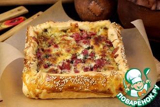 Рецепт: Пирог с картофелем Сытный