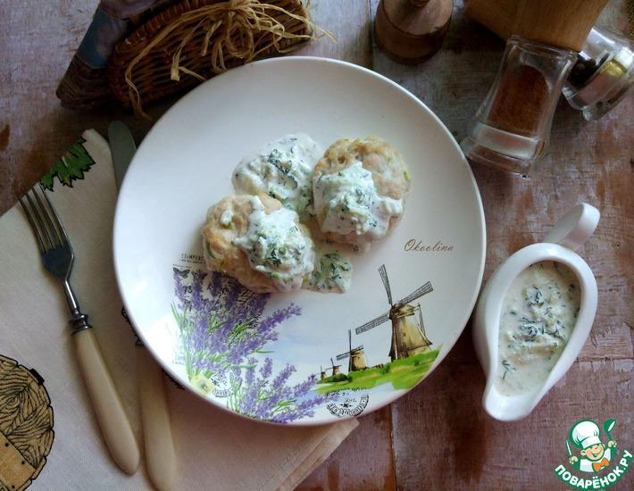 Рецепт: Живой огуречно-кабачковый соус