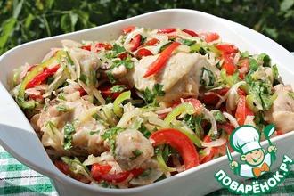Рецепт: Холодная курица по дунгански