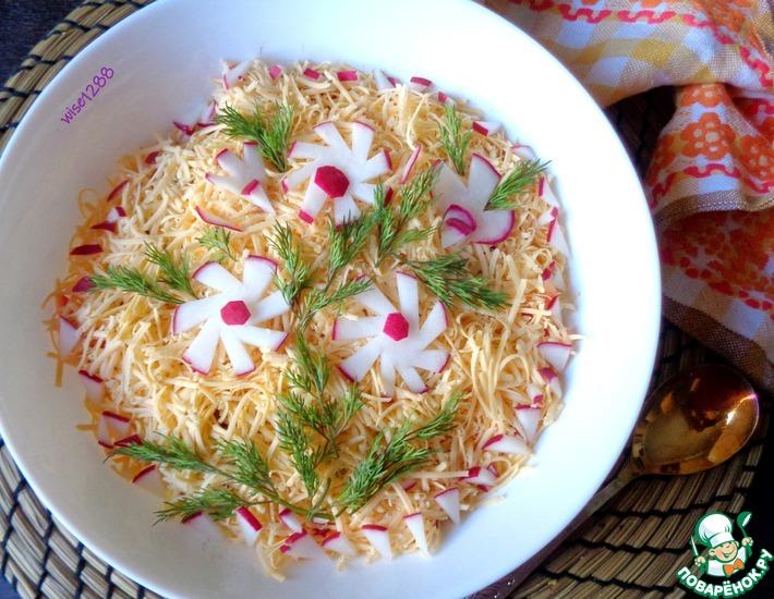 Рецепт: Салат «Во всей красе»