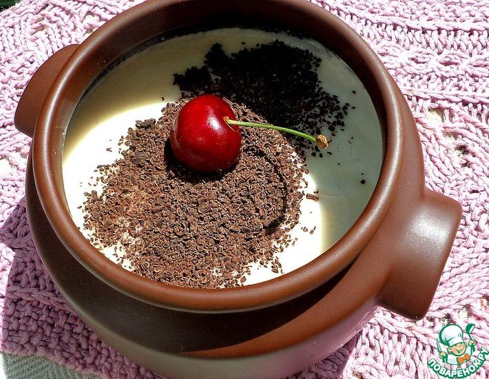 Рецепт: Бананово-йогуртовый желейный десерт с сюрпризом