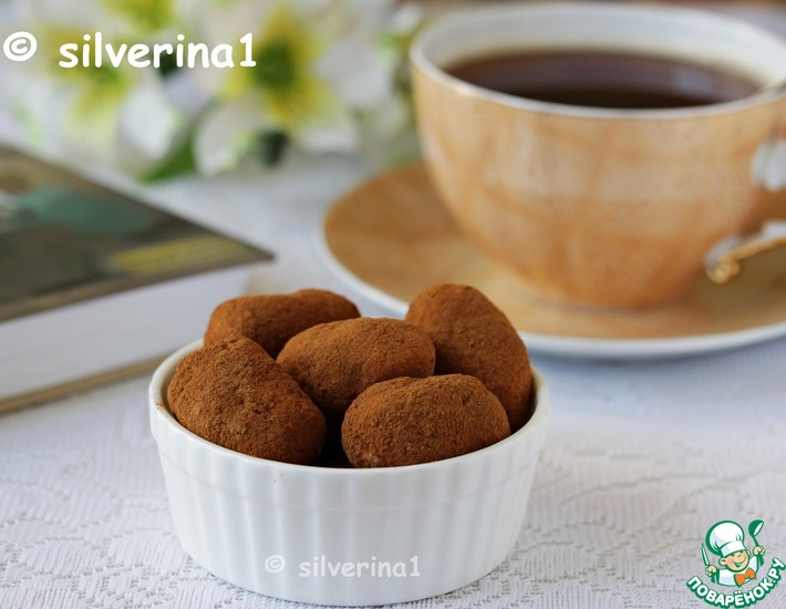 Рецепт: Конфеты Ирландская картошка