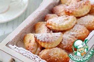 Рецепт: Печенье творожное с миндалем