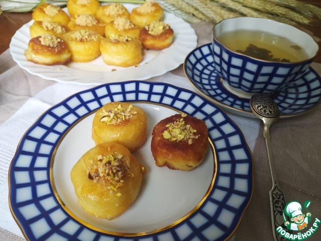 """Турецкие пончики """"Дамский пупок"""""""