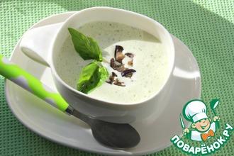 Рецепт: Нескучный холодный суп с баклажанами