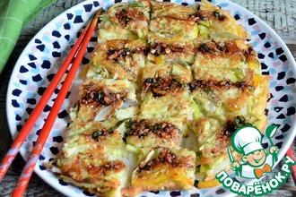 Рецепт: Овощной блин  Ячхеджон