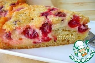 Рецепт: Пирог заливной ягодный
