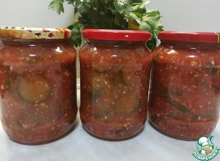 рецепт огурцов в краснодарском соусе