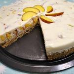 Торт йогуртовый с нектарином
