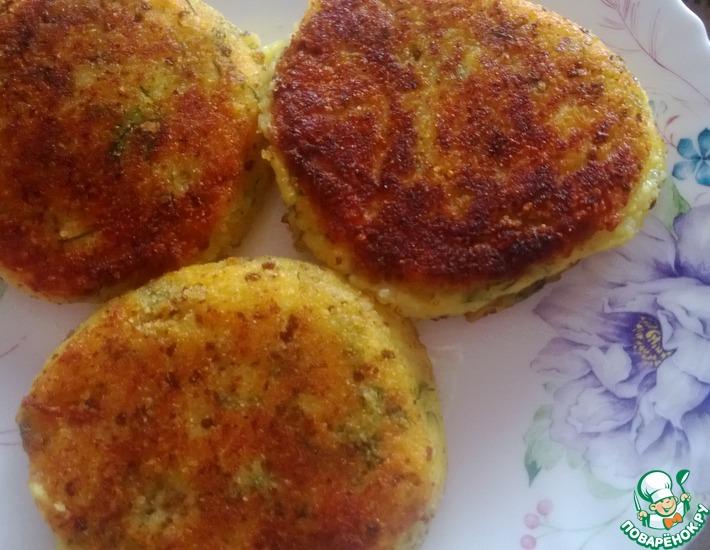 Рецепт: Картофельные лепешки с сыром