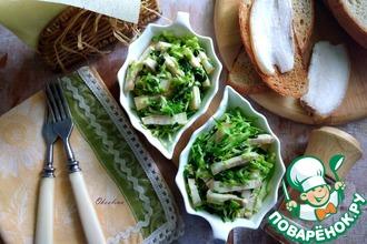 Рецепт: Салат с салом