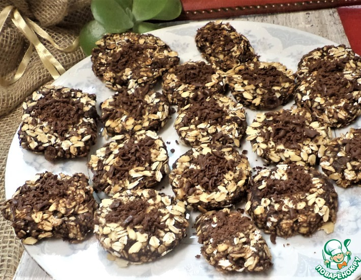 Рецепт: Печенье без муки на сковороде Марокко