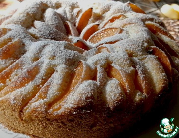 Рецепт: Абрикосовый пирог