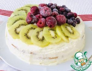 Торт С Днём Рождения, Анечка! Сметана
