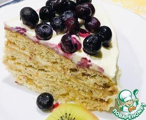 Торт С Днём Рождения, Анечка! Орехи грецкие