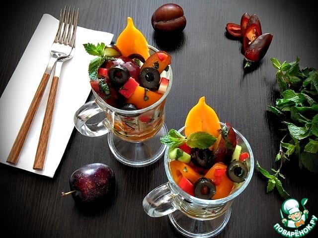 Салат-коктейль овощной