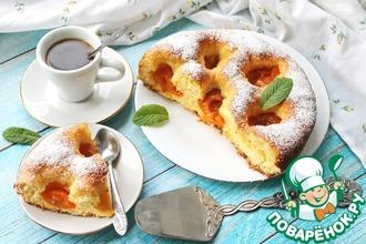 Рецепт: Майоркинский абрикосовый пирог