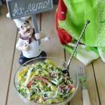 Салат из овощей Краски лета