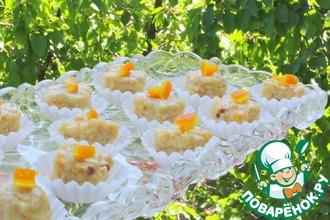 Рецепт: Конфеты миндально-апельсиновые с белым шоколадом