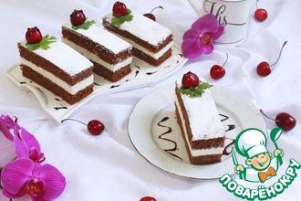 Рецепт: Домашние пирожные Киндер-милк