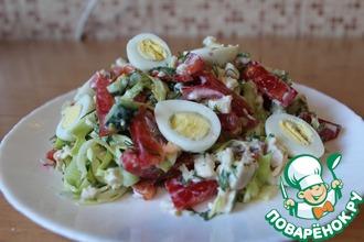 Рецепт: Салат с курицей Стройность