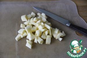 Тартар из сельди с яблоком Яблоко