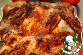 Рецепт: Курица на решетке