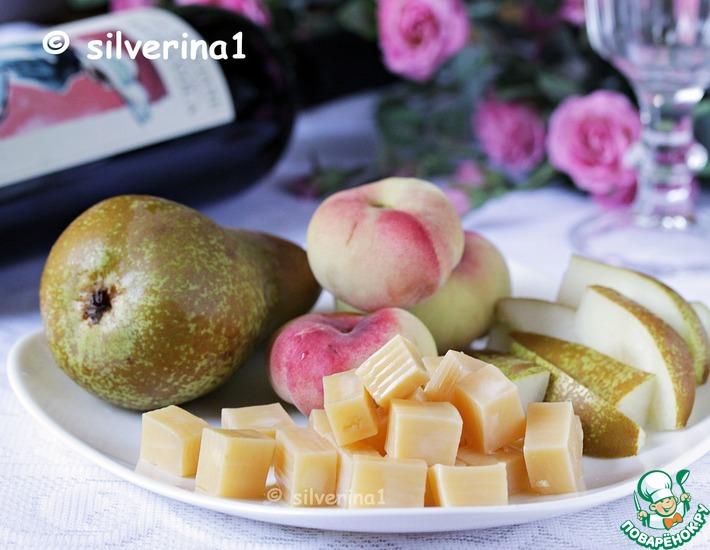 Рецепт: Маринованный сыр с бренди и мёдом