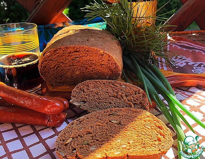 Рецепт: Хлеб ржаной на солоде «Деревенский»