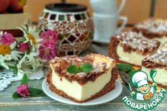 Рецепт: Творожный пирог Рабыня Изаура