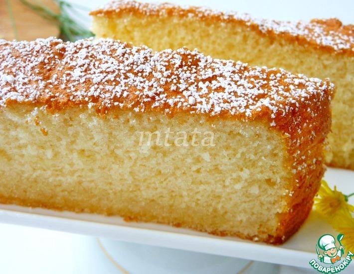 Рецепт: Пирог молочный