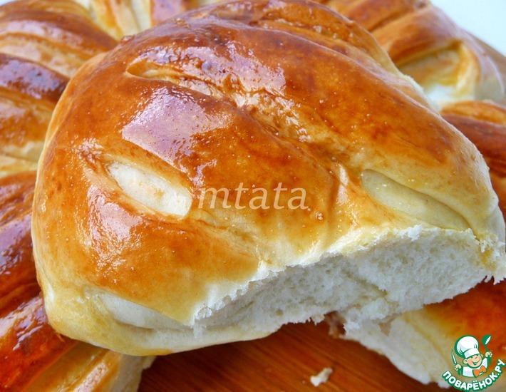 Рецепт: Пироги с мясом и яйцом