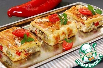 Рецепт: Куриный пирог-суфле