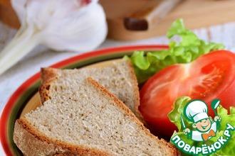 Рецепт: Деревенский ржаной хлеб