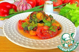 Рецепт: Салат «Палермо»