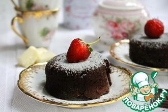Рецепт: Брауни Три шоколада