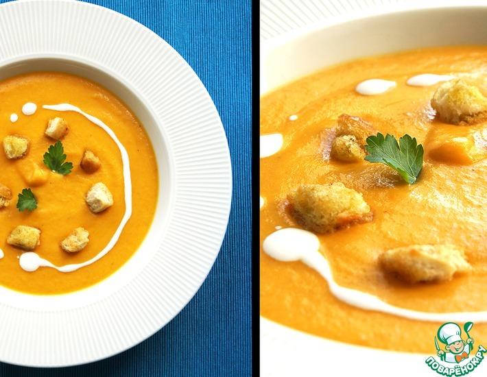 Рецепт: Французский морковный суп-пюре