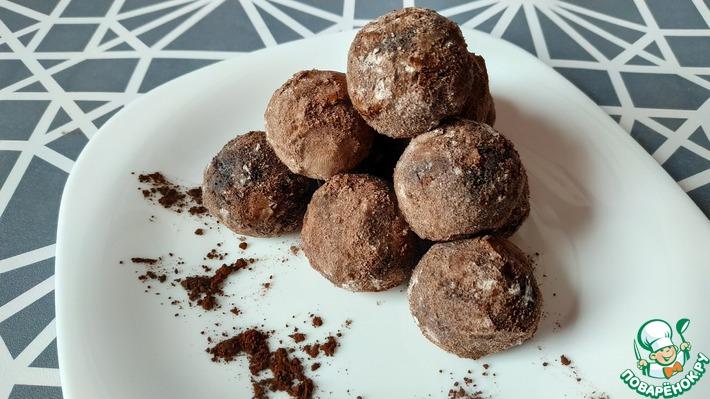 Домашние шоколадные конфеты