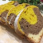 Трехцветный кекс