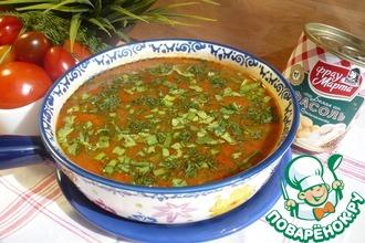 Рецепт: Балканский суп Манджа