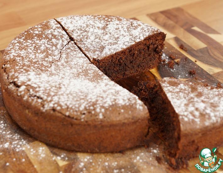 Рецепт: Шоколадно-ореховый торт из Неаполя