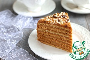 Торт Медовый пушистый Для медового теста