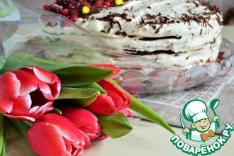 Рецепт: Шоколадный торт Нежность