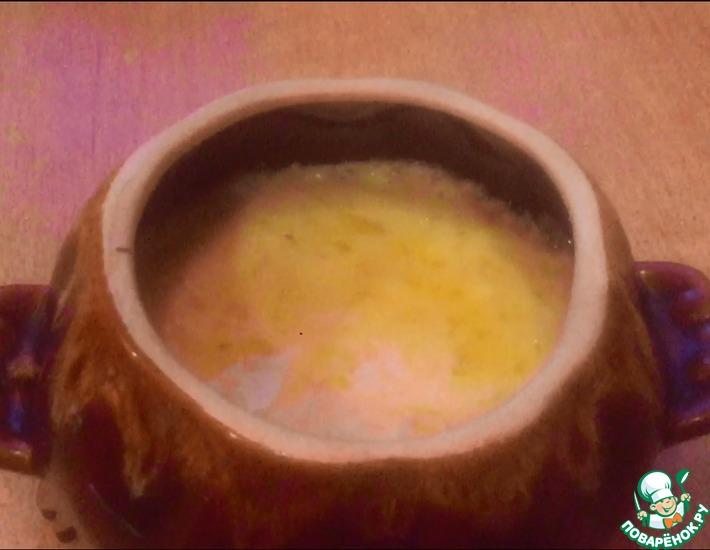 Рецепт: Горячая закуска из сушеных грибов