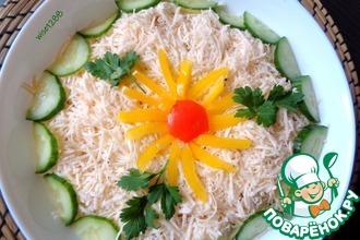 Рецепт: Салат с икрой трески