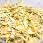 Салат из капусты и моркови с майонезом