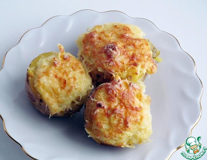 Рецепт: Картофель, фаршированный сыром