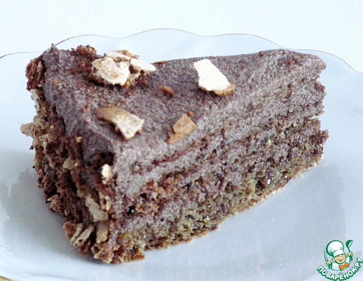 Рецепт: Торт из черного хлеба