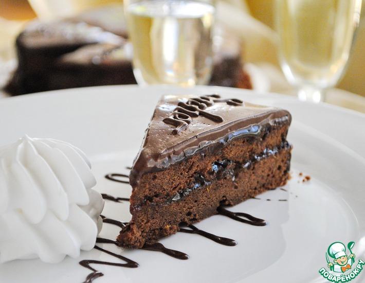Рецепт: Шоколадный торт Захер