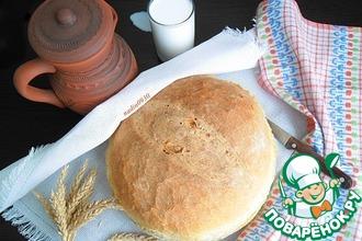 Рецепт: Хлеб постный на опаре